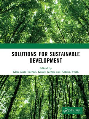 cover image of Solutions for Sustainable Development