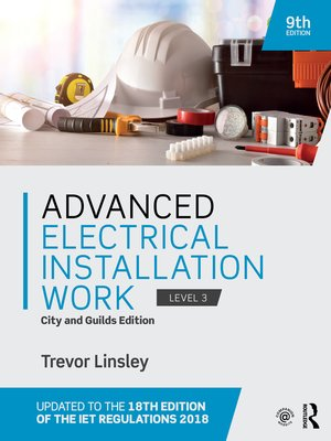 cover image of Advanced Electrical Installation Work
