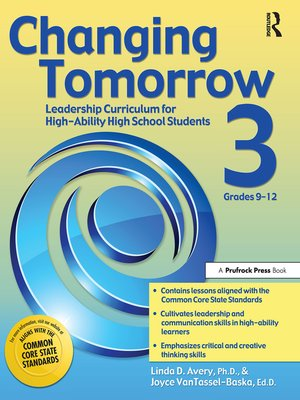 cover image of Changing Tomorrow 3, Grades 9-12