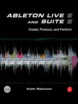 cover image of Ableton Live 8 and Suite 8