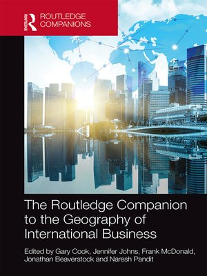 cover image of The Routledge Companion to the Geography of International Business
