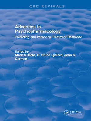 cover image of Advances in Psychopharmacology