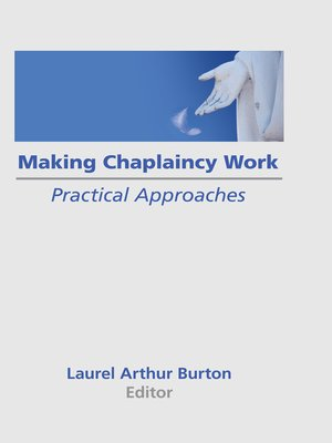 cover image of Making Chaplaincy Work