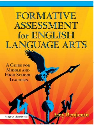 cover image of Formative Assessment for English Language Arts