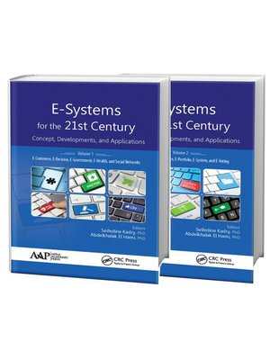 cover image of E-Systems for the 21st Century