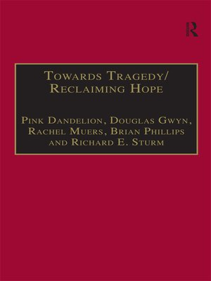 cover image of Towards Tragedy/Reclaiming Hope