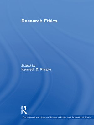 cover image of Research Ethics