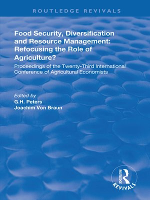 cover image of Food Security, Diversification and Resource Management