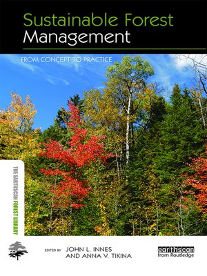cover image of Sustainable Forest Management