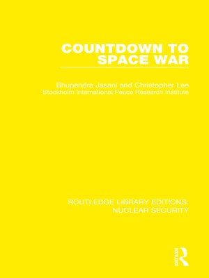 cover image of Countdown to Space War
