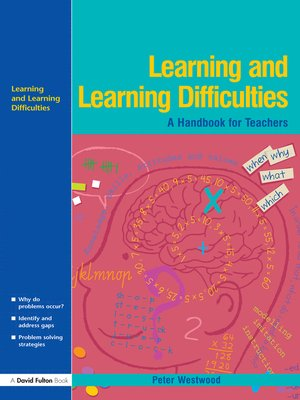 cover image of Learning and Learning Difficulties