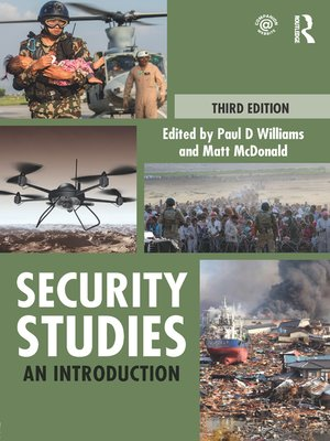 cover image of Security Studies
