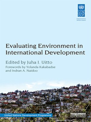 cover image of Evaluating Environment in International Development
