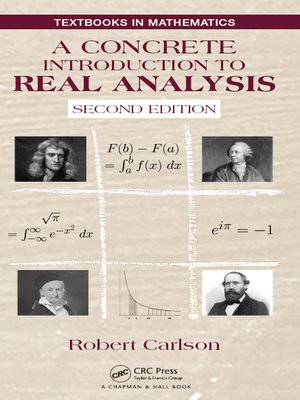 cover image of A Concrete Introduction to Real Analysis