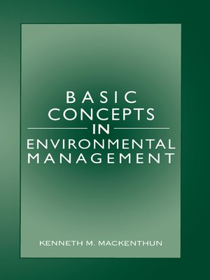 cover image of Basic Concepts in Environmental Management