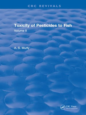 cover image of Toxicity of Pesticides to Fish