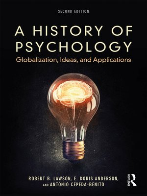 cover image of A History of Psychology