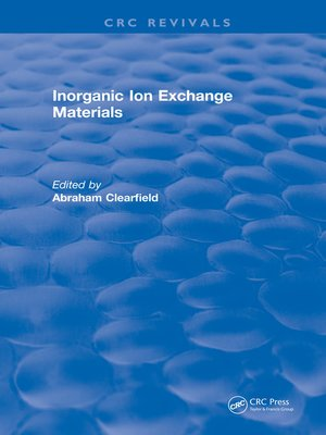 cover image of Inorganic Ion Exchange Materials