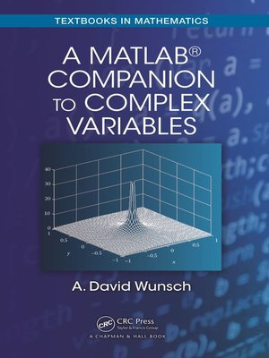 cover image of A MatLab® Companion to Complex Variables