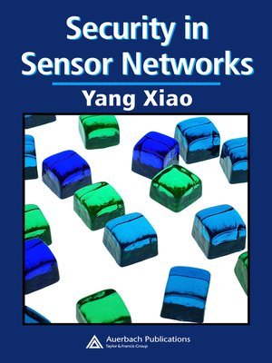 cover image of Security in Sensor Networks