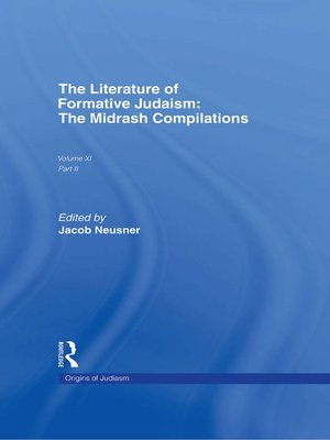 cover image of The Literature of Formative Judaism