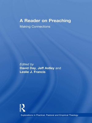 cover image of A Reader on Preaching