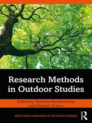 cover image of Research Methods in Outdoor Studies