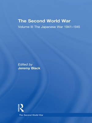 cover image of Volume III The Japanese War 1941–1945
