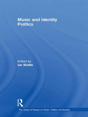 cover image of Music and Identity Politics