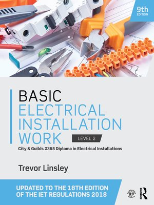 cover image of Basic Electrical Installation Work