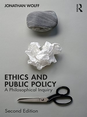 cover image of Ethics and Public Policy