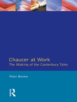 cover image of Chaucer at Work