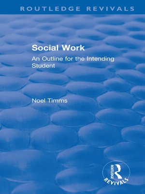 cover image of Social Work