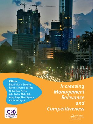 cover image of Increasing Management Relevance and Competitiveness