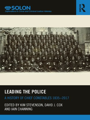 cover image of Leading the Police