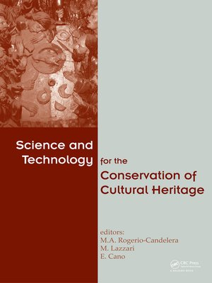 cover image of Science and Technology for the Conservation of Cultural Heritage
