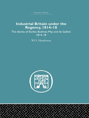 cover image of Industrial Britain Under the Regency