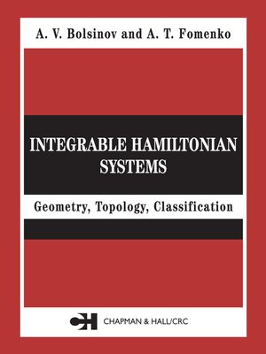 cover image of Integrable Hamiltonian Systems
