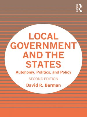 cover image of Local Government and the States