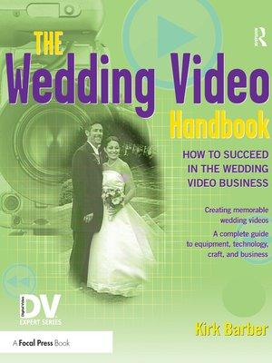 cover image of The Wedding Video Handbook