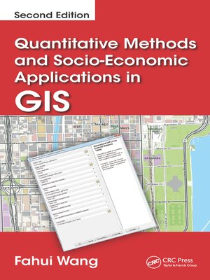 cover image of Quantitative Methods and Socio-Economic Applications in GIS
