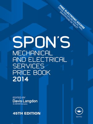 cover image of Spon's Mechanical and Electrical Services Price Book 2014