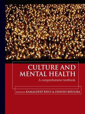 cover image of Culture and Mental Health