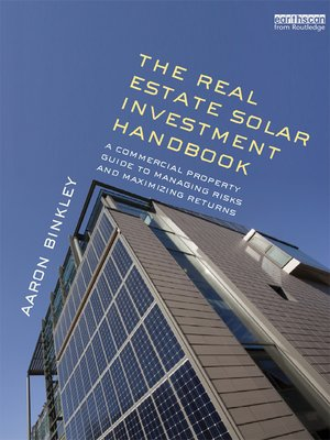 cover image of The Real Estate Solar Investment Handbook