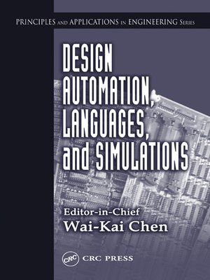 cover image of Design Automation, Languages, and Simulations