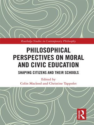 cover image of Philosophical Perspectives on Moral and Civic Education