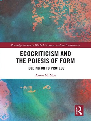 cover image of Ecocriticism and the Poiesis of Form