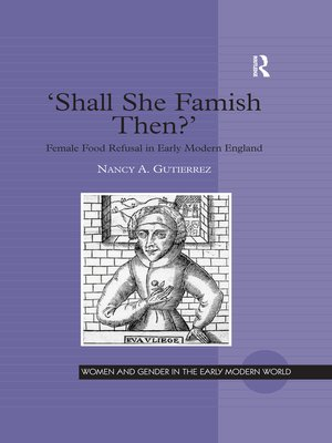cover image of 'Shall She Famish Then?'
