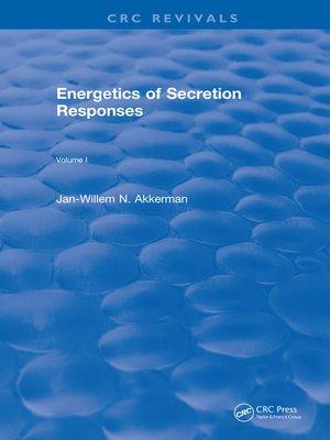 cover image of Energetics of Secretion Responses
