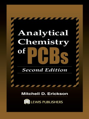 cover image of Analytical Chemistry of PCBs